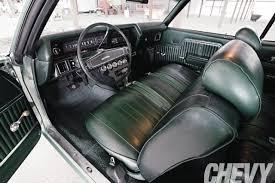 1970 Chevelle Interior Kit 1970 Chevrolet Chevelle Chevy High Performance Magazine