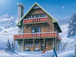 ski chalet house plans inglewood ski chalet home plan 008d 0150 house plans and more