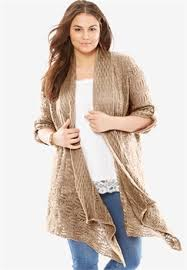 plus size cardigans for within