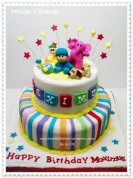 pocoyo party supplies pocoyo birthday cake kaoriarikitchen