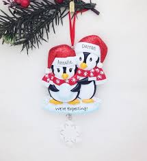 expecting parents personalized ornament we re