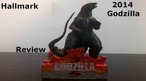 hallmark 2014 godzilla ornament review