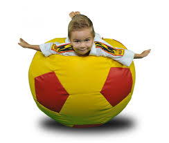 ball large multicolor bean bag chair