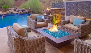 Fire Pit Glass Beads by 50 Best Outdoor Fire Pit Design Ideas For 2017