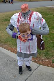 Football Halloween Costumes Toddlers Scary Diy Headless Football Player Halloween Costume Football