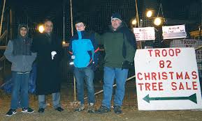 till the last christmas tree is sold troop 82 scouts prepared for