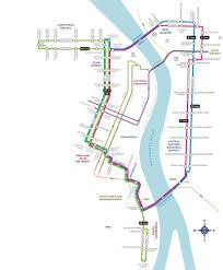 Map Of Portland Portland Trolley Map Map