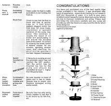 bilge pump 12v 1100gph mkbp g1100 12 12vdc rule water pump used in
