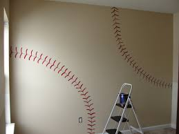 entrancing diy decorating for boys bedrooms with white baseball