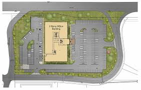 huntington west office building site plan