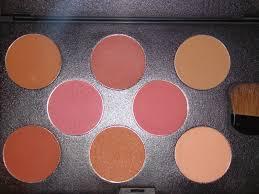 mariya rai swatches and review of e u0027tude blush palette