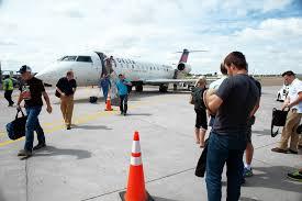 North Dakota travel flights images The airport that feeds the oil boom wsj jpg