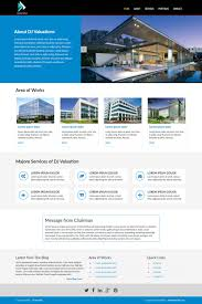 web design by jahid bd for dj valuations certified real estate