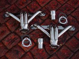 corvette c3 headers mcjacks chrome and ceramic coated headers and exhaust for c1 and
