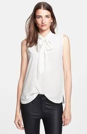 sleeveless tie neck blouse equipment poppy tie neck sleeveless silk blouse where to buy