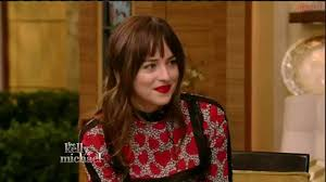 kelli johnson dakota johnson interview fifty shades of grey live with kelly