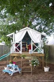 Backyard Fort Ideas 25 Playful Diy Backyard Projects To Your Amazing