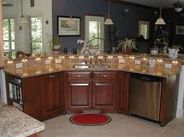 kitchens with islands designs impressive kitchen island with sink and seating widaus home design