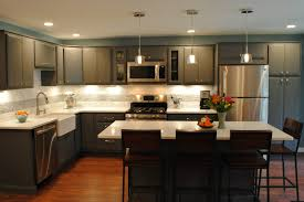 kitchen simple kitchen design natural hickory cabinets hickory