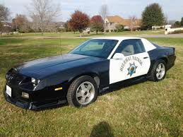 police camaro 1992 chevrolet camaro evoc b4c 1le police package auto