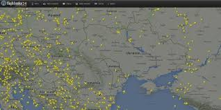Icelandair Route Map by Video The Moment Flight Mh17 Disappeared From Flightradar24
