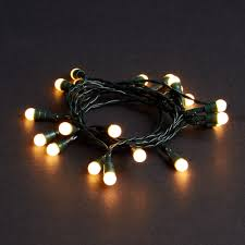 20 battery operated led berry lights white robert dyas