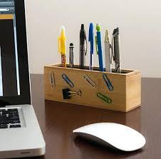 Modern Desk Organizer Office Desk Designer Office Desk Accessories Decor Work Happy
