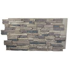 New Stone Veneer Panels For by Superior Building Supplies Cinnamon 24 In X 48 In X 1 1 4 In