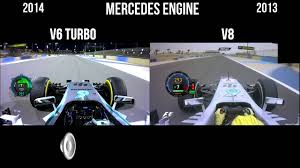 formula 4 engine f1 v6 turbo vs v8 engine sound mercedes new f1 sound youtube