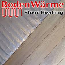 underfloor heating mat for laminate or engineered wood flooring