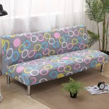 Leather Sofas Covers Circle Folding Sofa Cover Elastic Slipcovers Sofa Bed Covers