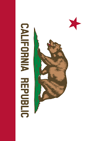 California Bear Flag Republic File Flag Of California Vertical Svg Wikimedia Commons