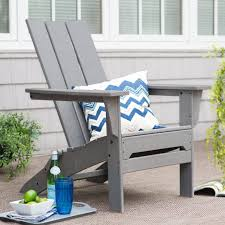 chair adirondack 4slat flat tall grey modern for todays