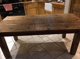 Rustic Oak Dining Tables Rustic Oak Dining Table 6 Chairs Langhorns Chester In
