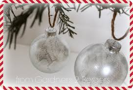 from gardners 2 bergers diy silver lace ornament
