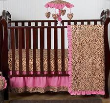 Cheetah Print Crib Bedding Set Animal Print Crib Bedding Ebay