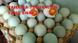 membuat telur asin berkualitas tips dan resep cara membuat telur asin enak sendiri youtube