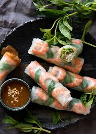 vietnamese rice paper rolls recipetin eats