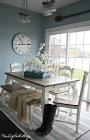 blue painted dining table another shopping find and my new favorite magazine house tours