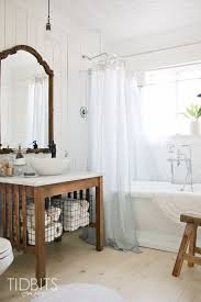 how to make a window curtain work for a shower curtain tidbits