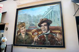 Desi Arnaz And Lucille Ball Lucille Ball And Desi Arnaz Mural In Culver City