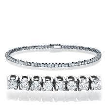 tennis bracelet white images Diamond tennis bracelet 14k white gold 2 10 ct t w couplez jpeg