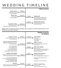 free wedding day timeline printables wedding reception timeline