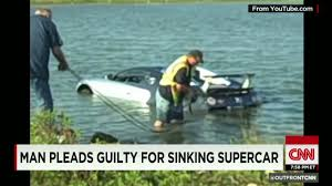 bugatti crash see million dollar car get swamped cnn video