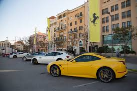 ferrari showroom scuderia lebanon hosts a test drive experience for the ferrari