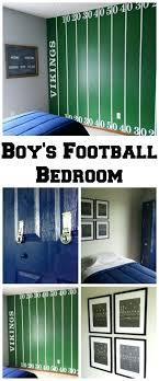 Football Room Decor Football Decor For Bedroom Boys Bedrooms Football Room Decorating