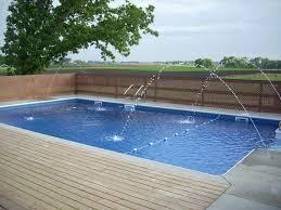 innovative rectangle small backyard pool ideas with modern