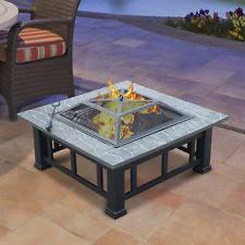 Fire Pit Backyard Fire Pits U0026 Chimineas Ebay