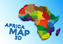 3d africa map vector africa map vector free free vector stock graphics