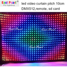discount dj led curtains 2017 dj led curtains on sale at dhgate com